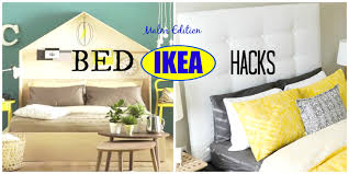 ikea bed hack diy ikea bed hacks malm edition ideas inspiration youtube