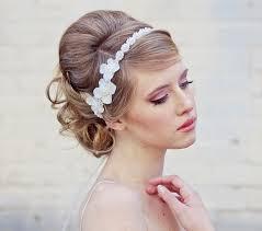 wedding hair to the side with veil digitalrabie com