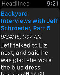 Jeff Schroeder Backyard Interviews Big Brother Hamster Soup On The App Store