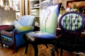 hand crafted hand painted upholstered chair quilted 1920 u0027s arm