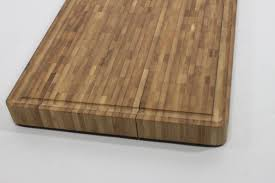 large end grain cutting board butcher block juice groove and