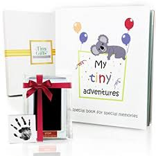 photo albums for babies 5 years baby memory book clean touch ink pad