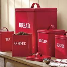red kitchen canister set impressive simple red canister set for kitchen light up your kitchen