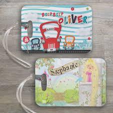 personalised bag luggage tags spatz mini peeps