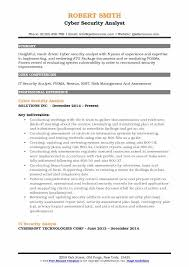 information security analyst resume it security analyst resume sles qwikresume