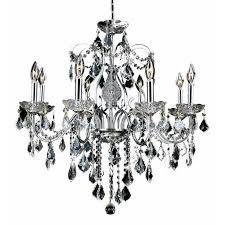 Elegant Crystal Chandelier Elegant Lighting St Francis 26 8 Light Elegant Crystal Chandelier