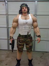 Bodybuilder Halloween Costumes Diy Rambo Halloween Costume Maskerix