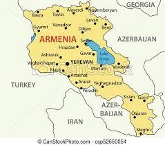 armenia on world map republic of armenia vector map clipart vector search