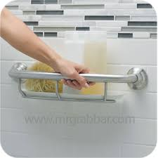 designer grab bars for bathrooms designer grab bar with integrated shelf moen lr2356dbn