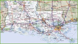 Map Of Orlando by Map Of Southern Louisiana