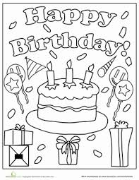 happy birthday papa coloring pages birthday coloring pages worksheets birthdays and happy birthday