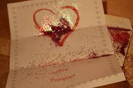gifts to send in the mail send a valentines glitter gram