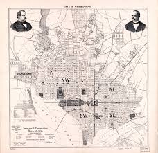 Maps Washington Dc by Large Scale Old Map Of City Of Washington 1893 Washington D C