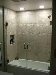 hinged glass shower doors frameless glass bathtub enclosures 51 inspiring design on