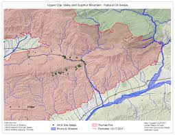 Ojai California Map Upper Ojai At Cfrog Citizens For Responsible Oil And Gas