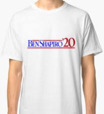 ben shapiro t shirts redbubble