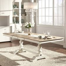 Distressed Dining Room  Kitchen Tables Shop The Best Deals For - Distressed white kitchen table