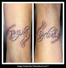family forever ambigram family is the most important thing die