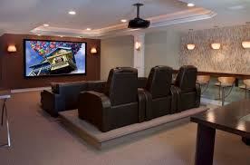 room creative media room sofa good home design contemporary on