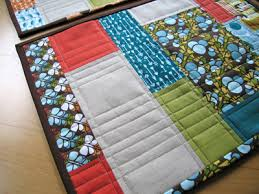 color blocks placemats napkins sew along sew sew