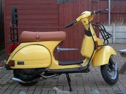 vespa t5 classic yellow