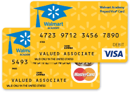 pre paid card walmart academy prepaid card