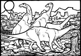 exciting dinosaur colouring pages the dinosaur museum
