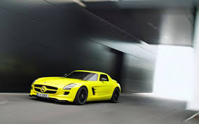 mercedes benz biome inside mercedes benz sls e cell in full electric motion