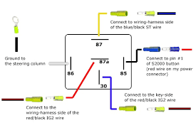 12v horn relay wiring diagram awesome sample detail incredible