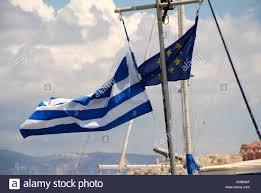 Greek Canadian Flag European Union Flag Flying Stock Photos U0026 European Union Flag