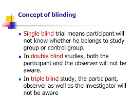 What Are Double Blind Studies Epidemiology Ppt Video Online Download