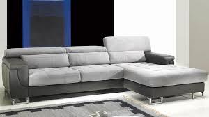 canapé d angle en cuir gris canapé en cuir gris schöne solde pas cher 7 avec canap d angle