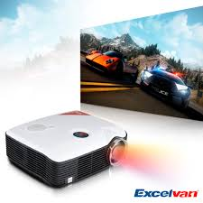 projector home theater excelvan ph5 2500 lumens led hd 1080p home theater projector av tv