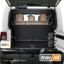 jeep tailgate storage travall pet barrier for jeep wrangler unlimited 4 door jk 2007