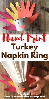 turkey napkin ring print turkey napkin ring the workshop