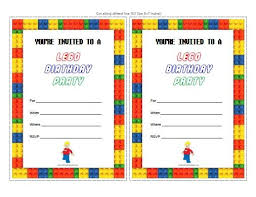 birthday party invitations lego birthday party invitations kawaiitheo
