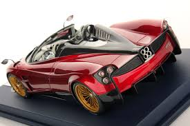 pagani huayra red pagani huayra roadster 1 18 looksmart models