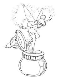 disney tinkerbell tinkerbell friends coloring pages