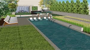 3d sketch portfolio of given pool designs llc kansas city swimming