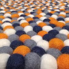 Orange And Black Rugs Surprising Idea Orange Grey Rug Charming Ideas Grey And Orange