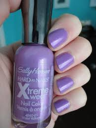 sally hansen xtreme wear nail polish in violet voltage natalie