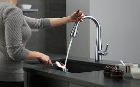 kitchen pull down faucet reviews delta 9113t ar dst kitchen faucet pull down faucet review
