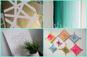 decor tips cool diy dorm with wall art and curtain design also