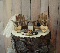 country themed wedding country adirondack chair wedding cake topper cing fishing lake
