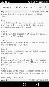 how to fix lexus key fob 2002 sequoia key fob programming toyota nation forum toyota