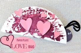diy paper plate love bug valentine u0027s day
