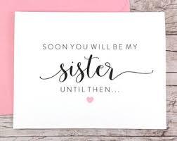 in bridesmaid card bridesmaid card etsy
