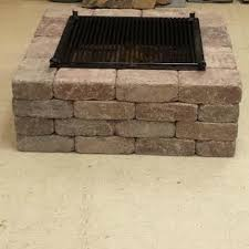 Fire Pit Insert Square by Anderson U0027s Masonry Hearth And Home Fire Pit Kit Tubs