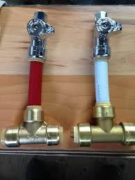 Best PEX Images On Pinterest Pex Plumbing Bathroom Ideas And - Kitchen sink water supply lines