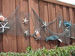 Beach Themed Backyard Would Love To Decorate The Fence By The Pool With A Fish Ocean